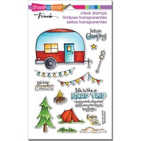 Stampendous Fran's Clear Stamps Campground