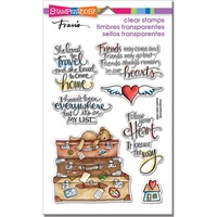 Stampendous Fran's Clear Stamps Travel Home