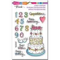Stampendous Fran's Clear Stamps Cake Tiers