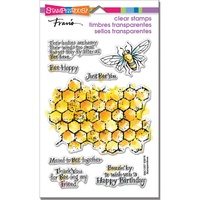 Stampendous Fran's Clear Stamps Honeycomb Wishes