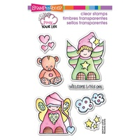 Stampendous Fran's Clear Stamps Little Angels