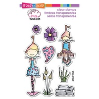 Stampendous Fran's Clear Stamps Whisper Friends