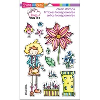 Stampendous Fran's Clear Stamps - Whisper Garden FREE SHIPPING