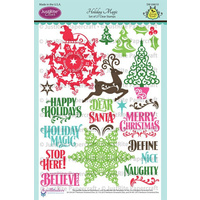 Justrite Stamp Holiday Magic