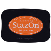 StazOn Craft Ink Rusty Brown