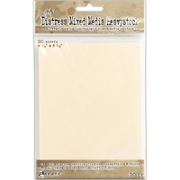Tim Holtz Distress Mixed Media Heavystock Tags 4.25 x 5.5 20 Pack