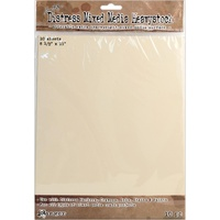 Tim Holtz Distress Mixed Media Heavystock Tags 8.5 x 11 10 Pack