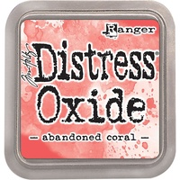 Tim Holtz Distress Oxide Ink Pad Abandoned Coral