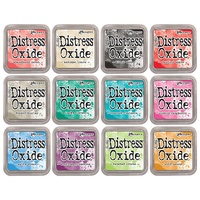 Tim Holtz Distress Oxide Ink Pad 12 Colours Set 2