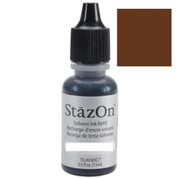StazOn Craft Ink Refill 15ml Spiced Chai