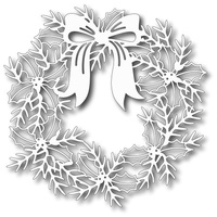 Tutti Designs Dies Wreath With Bow TUTTI-132