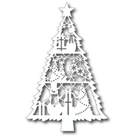 Tutti Designs Dies Holiday Spirit Tree TUTTI-135
