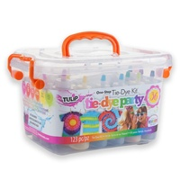 Tulip One-Step Tie-Dye Kit 18 Squeeze Bottles Pool Party Seconds