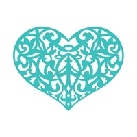 Ultimate Crafts Invali Impression Dies - Ornate Heart