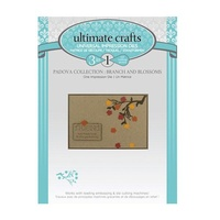 Ultimate Crafts Dies Padova Branch & Blossoms