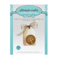 Ultimate Crafts Dies Padova Winter Tree Tag