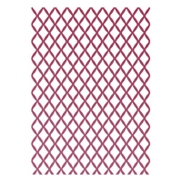 Ultimate Crafts Embossing Folder 5x7 Petite & Tied Together
