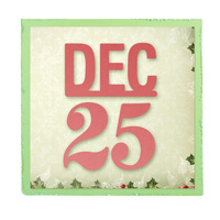 Ultimate Crafts Die Silent Night - December 25 FREE SHIPPING