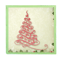 Ultimate Crafts Die Silent Night - Fancy Tree FREE SHIPPING