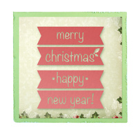 Ultimate Crafts Die Silent Night - Good Tidings FREE SHIPPING
