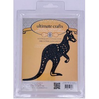 Ultimate Crafts Dies Australiana Dreamtime Kangaroo