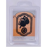 Ultimate Crafts Dies - Australiana Old Farm Cart Tag Set FREE SHIPPING