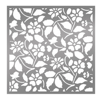 Ultimate Crafts Bohemian Bouquet Field of Daisies 6x6 Stencil