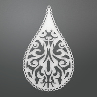 Ultimate Crafts Dies Bohemian Bouquet Teardrop Damask