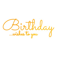 Ultimate Crafts Classic Sentiments Hotfoil Birthday Wishes