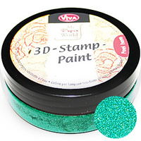 Viva Decor 3D Stamp Paint 50ml Lime Green
