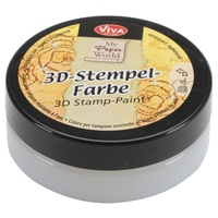 Viva Decor 3D Stamp Paint 50ml Transparent