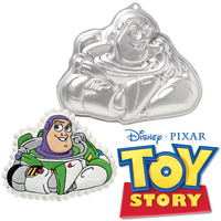 Wilton Cake Pan Tin Toy Story Buzz Lightyear