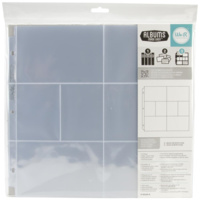 12x12 Album Refills - Ring Albums 10 Pk 4 (6 X4 ) & 4 (3 X4 ) We R Memory Keepers