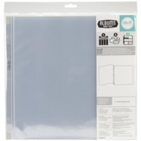 12x12 Album Refills 5pk Flush Bound Page Protectors We R Memory Keepers