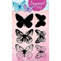 Studio Light Layered Stamps Butterflies