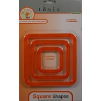 Tonic Studios Shape Mate Square Shapes Great Cutting System