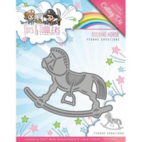 Find It Trading Yvonne Creations Tots & Toddlers Die Rocking Horse