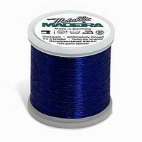Madeira Metallic Machine Embroidery Thread No. 40 Royal Blue 200m Col.38