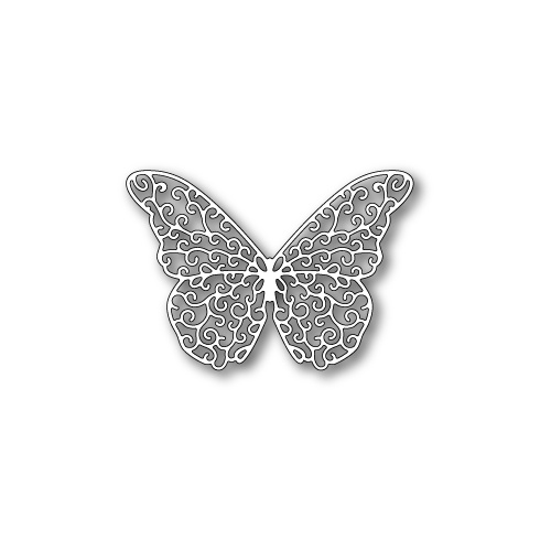 Poppystamps Die Princess Butterfly 1136