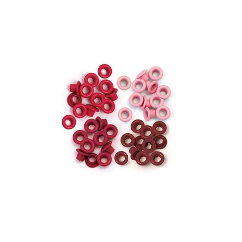We R Memory Keepers CropADile 60 Eyelets Red