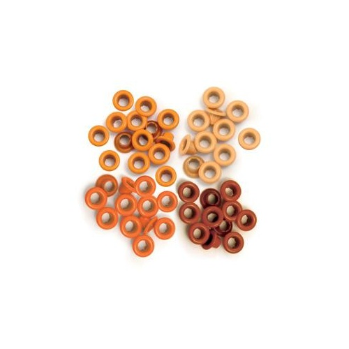 We R Memory Keepers CropADile 60 Eyelets Orange