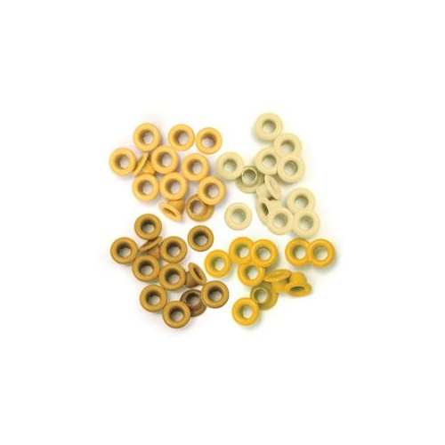 We R Memory Keepers Crop-A-Dile 60 Eyelets Yellow