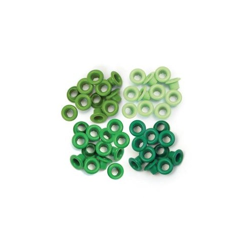 We R Memory Keepers CropADile 60 Eyelets Green