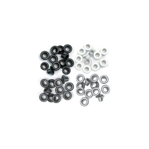 We R Memory Keepers Crop-A-Dile 60 Eyelets Grey