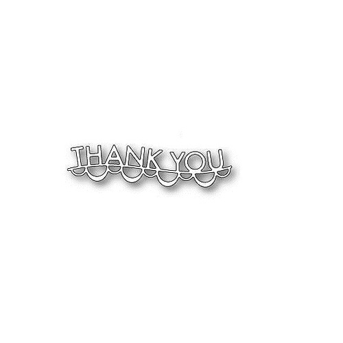 Memory Box Die Thank You Garland 98977