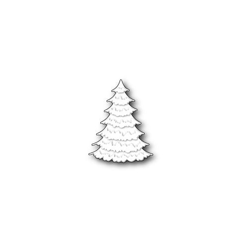 Memory Box Die Frosted Spruce Tree 99005