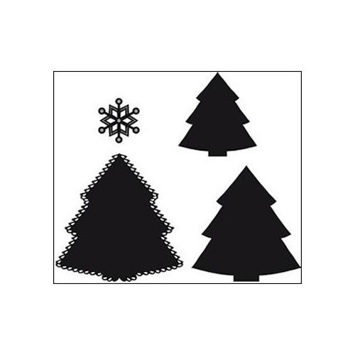 Marianne Design Craftables Dies Christmas Tree CR1227
