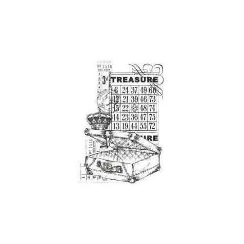 KaiserCraft Clear Stamps Vintage Treasure CS828