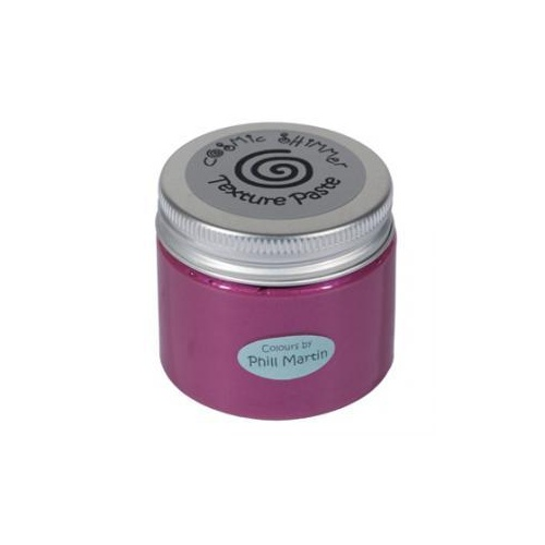 Cosmic Shimmer Phill Martin Texture Paste Chic Magenta 50ml