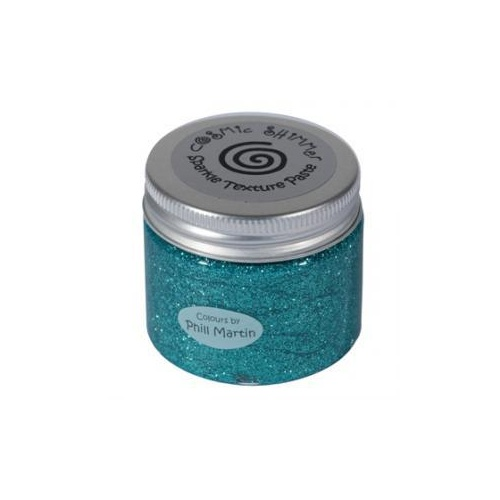Cosmic Shimmer Phill Martin Sparkle Texture Paste Decadent Teal 50ml